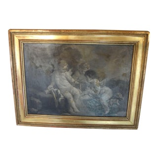 18th Century French Grisaille Painting For Sale
