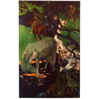 "1950s Paul Gauguin ""The White Horse"" Lithograph For Sale"