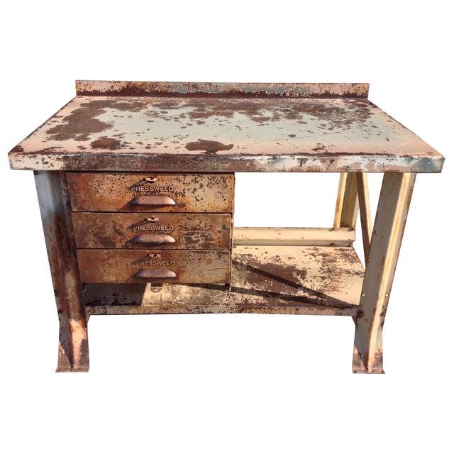 Industrial Desk - Image 1 of 7