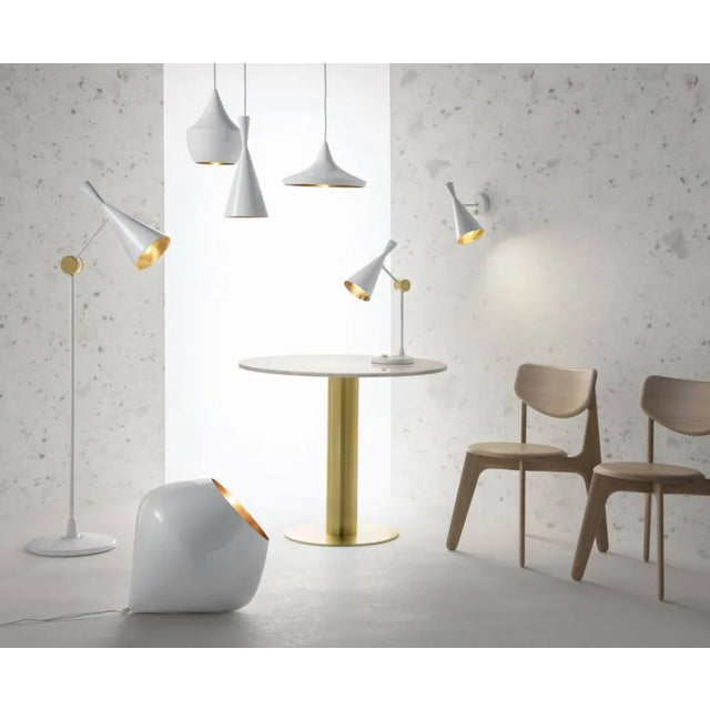 2010s Tom Dixon Beat Table Light in White For Sale - Image 5 of 9