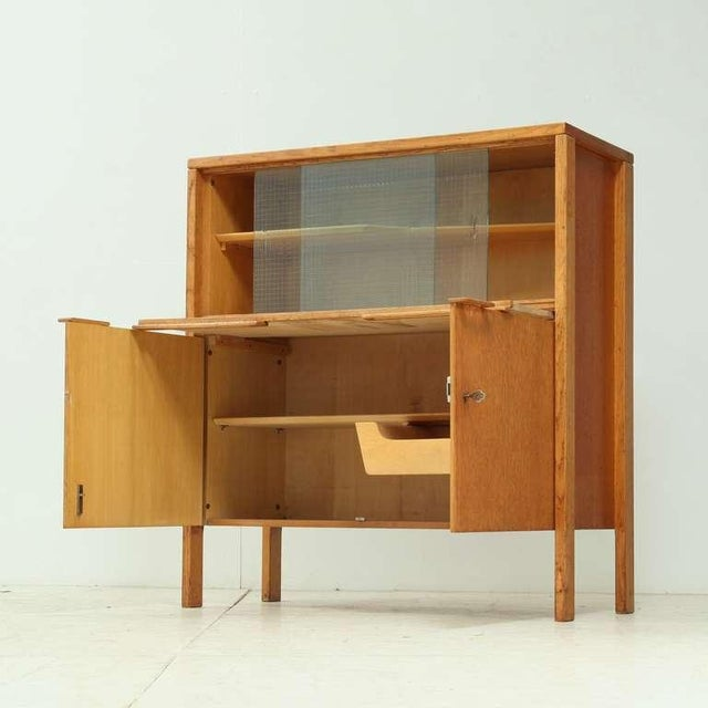 Cees Braakman early Cupboard or Bar in Oak, Netherlands, 1940s/50s - Image 4 of 7