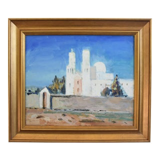 George Barker (1882-1965), Mission San Xavier Del Bac Oil Painting For Sale