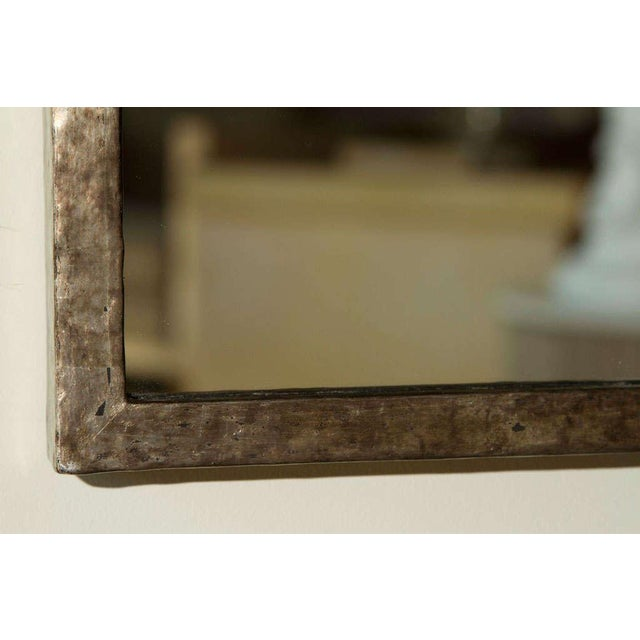 Not Yet Made - Made To Order Paul Marra Negative Space Distressed Finish & Horsehair Mirror For Sale - Image 5 of 8