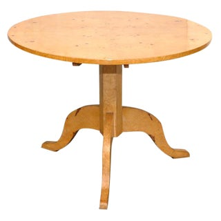 Biedermeier Style Center Table For Sale