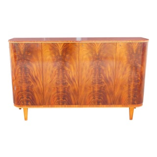 1940s Swedish Art Moderne Sideboard For Sale