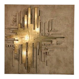 Nanna Ditzel for Bonacina Brutalist Wall Light For Sale