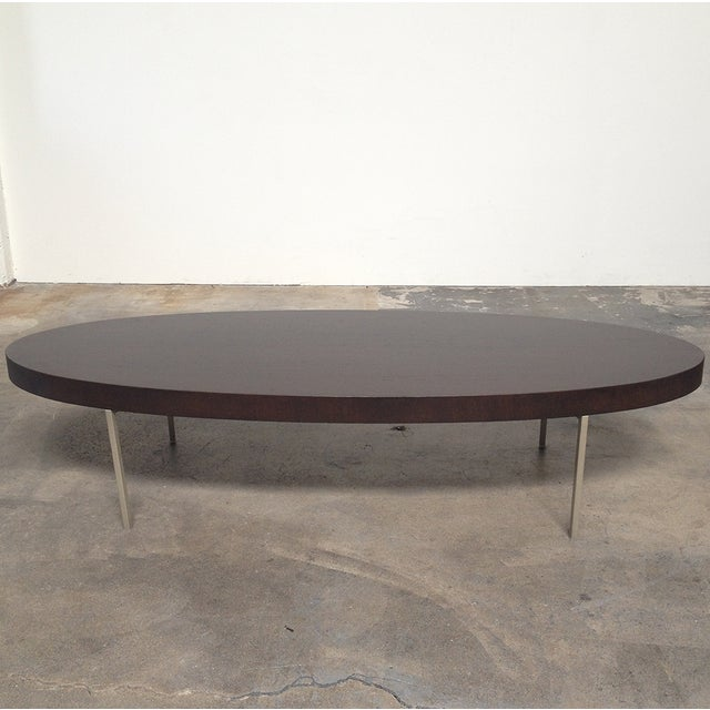 Maxalto Ebe Coffee Table Brown Oak - Image 3 of 4