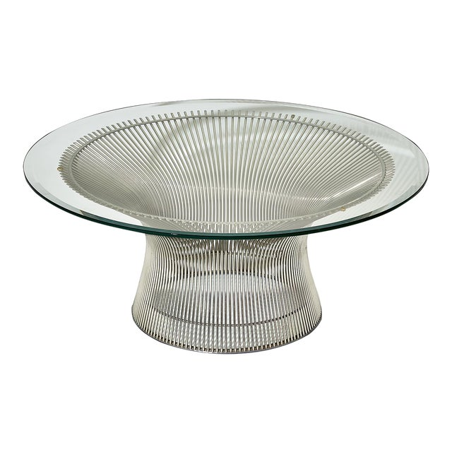 Warren Platner Coffee Table Manufactured by Knoll For Sale