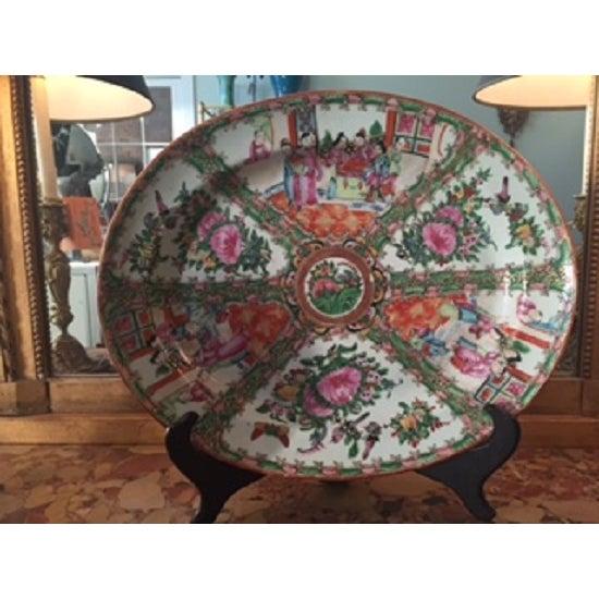 Vintage Rose Medallion Platter - Image 2 of 5