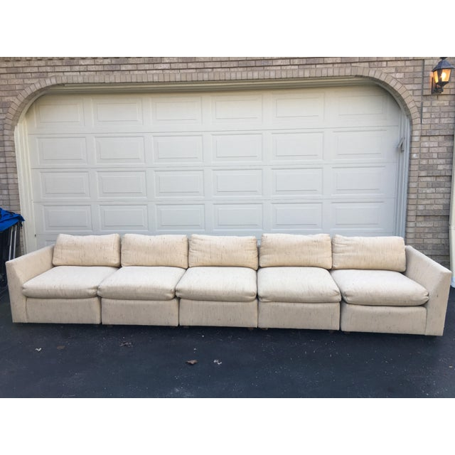 1980s Vintage Dansen 5pc Sectional Sofa For Sale - Image 9 of 13