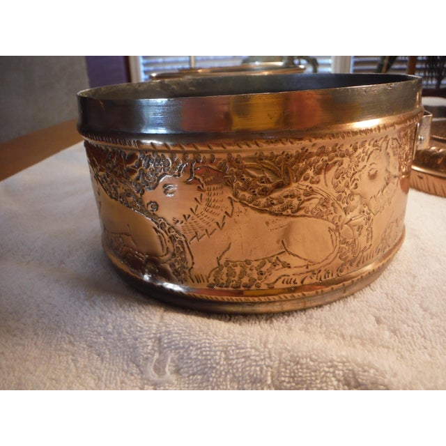 "Vintage Copper Clad ""Tiffin"" or ""Dabba"" - Image 4 of 9"