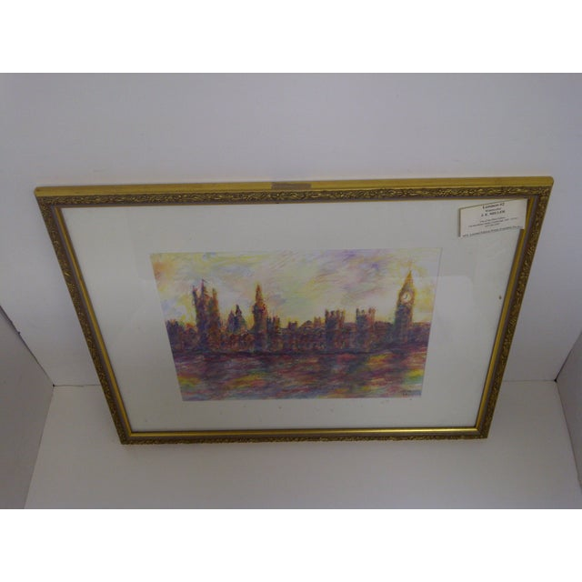 """London #2"" Original Painting by J.E. Miller For Sale - Image 7 of 9"