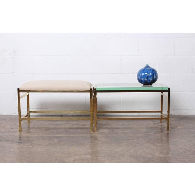 Bass Bench and Table by Edward Wormley for Dunbar For Sale - Image 10 of 10