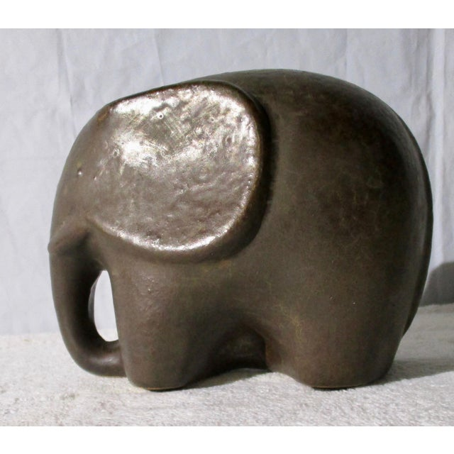 Elephant Sculpture For Sale In New York - Image 6 of 6
