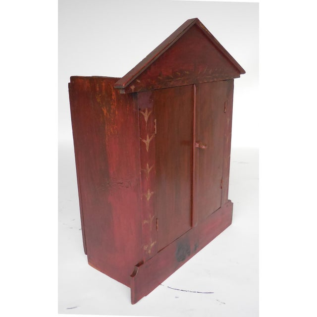 Traditional Escaparate 'Display Box' with Doors For Sale - Image 3 of 8