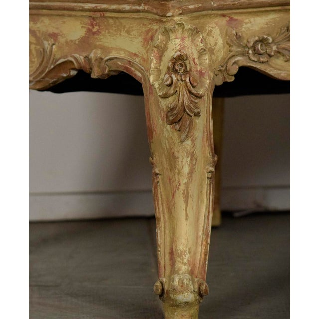 Vintage French Louis XV Style Carved Bergeres - a Pair - Image 10 of 11