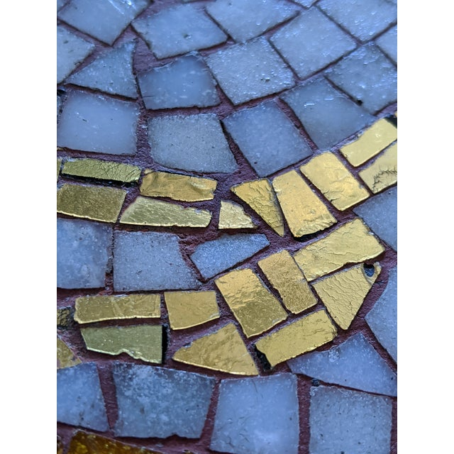 Artisan Midcentury Modern Mosaic Table For Sale - Image 10 of 13