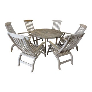 Barlow Tyrie Teak Patio Set