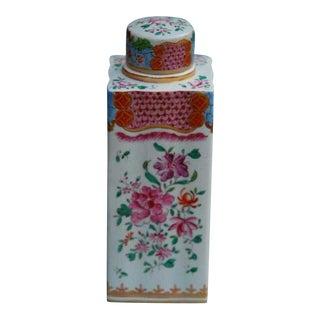 Samson Porcelain Tea Cannister, Early 20th C. For Sale