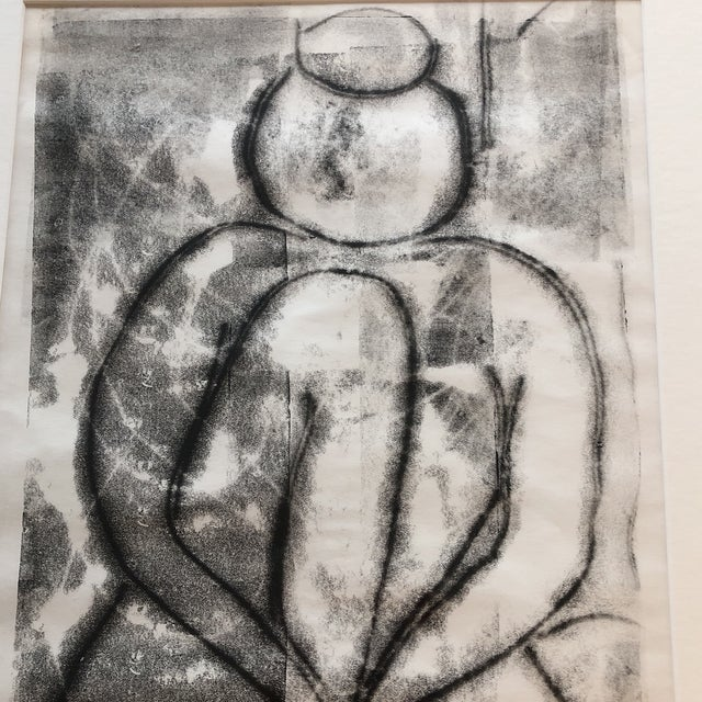 Abstract Vintage Modernist Original Birdsey Female Nude Lithograph For Sale - Image 3 of 9