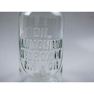 Embossed Vintage Apothecary Bottle Preview