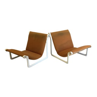 Hannah Morrison for Knoll Sling Chairs - a Pair For Sale