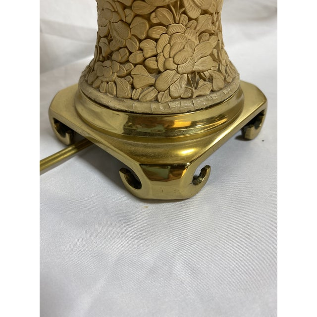 Vintage Cinnabar Ginger Jar Petite Lamps For Sale In Richmond - Image 6 of 13