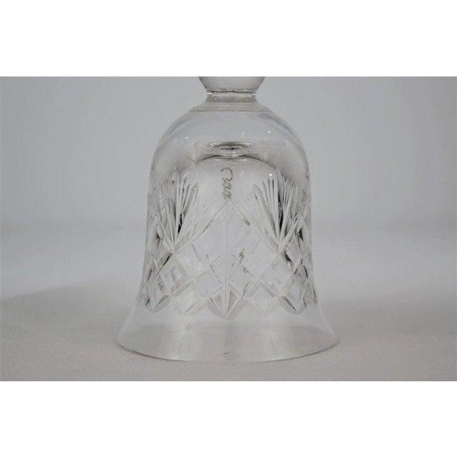 Edinburgh Crystal 1970s Edinburgh Crystal Bell For Sale - Image 4 of 8