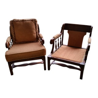 1960s Vintage Matching Chairs - a Pair For Sale
