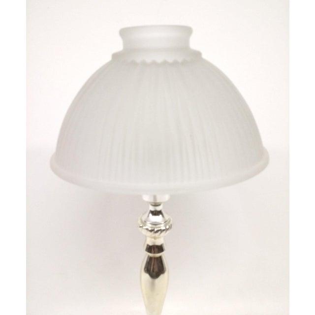 Vintage Silver-Plate Tea Light Candle Holder For Sale - Image 5 of 7