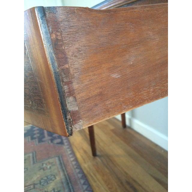 Vintage Hepplewhite Demi-Lune Table - Image 4 of 9