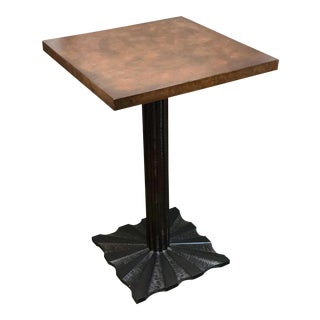 Industrial Century Furniture Side Table For Sale