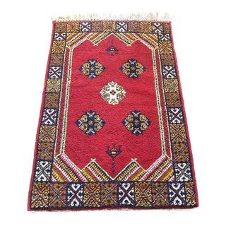 Moroccan Berber Rug - 3′6″ × 5′7″