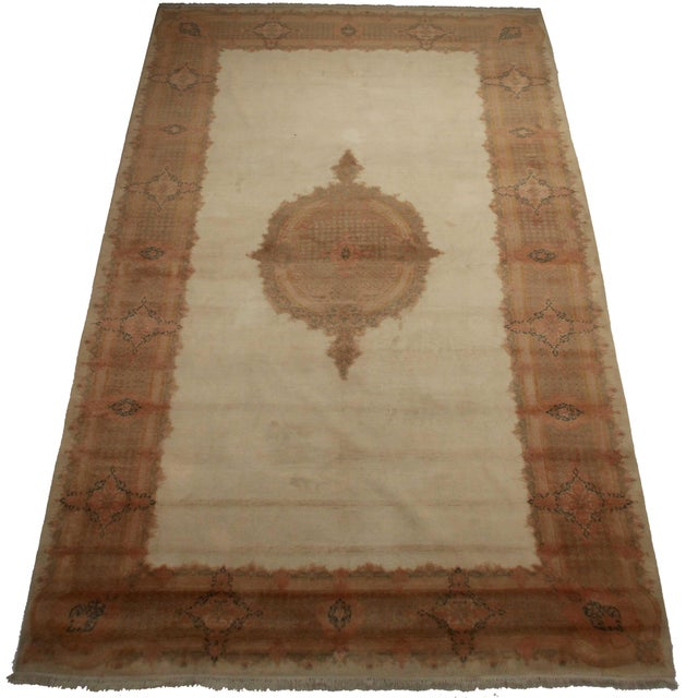 """Magnificent Persian Kerman Hand Knotted Wool Oriental Rug Size: 10' 1"""" x 17' 8"""""""