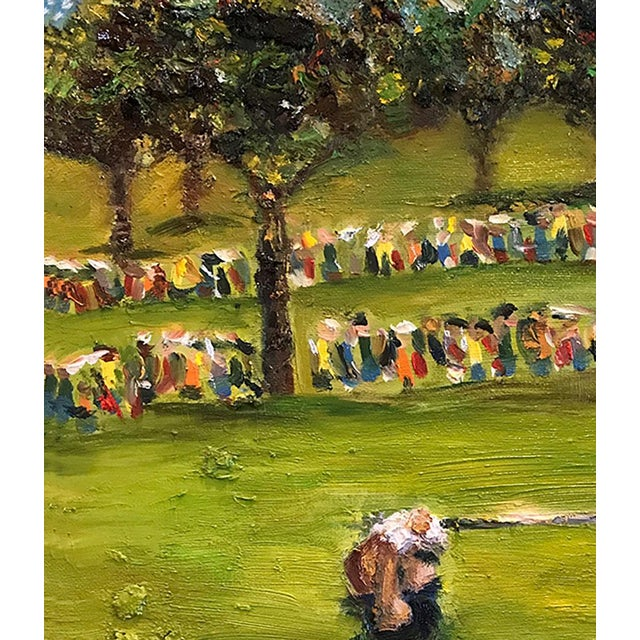 Tiger Woods Pga Golf Original Framed Oil Painting Signed Art For Sale In Saint Louis - Image 6 of 10
