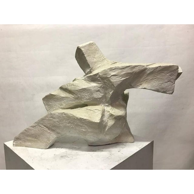 Abstract Figurative Plaster Sculpture - Image 2 of 4