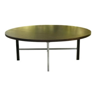 1950s Mid-Century Modern Paul McCobb for Calvin Linear Group Round Coffee Table For Sale