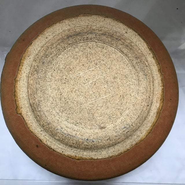 Hand Thrown Studio Pottery Bowl For Sale - Image 5 of 5
