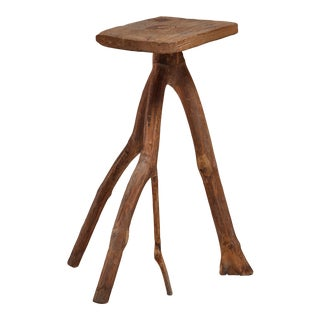 Fernando da Ilha do Ferro craft stool, Brazil For Sale