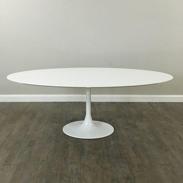 Saarinen-Style Tulip Dining Table by Domitalia - Image 7 of 7