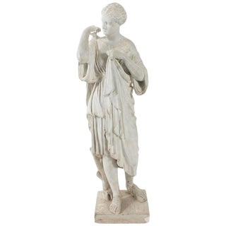 Vintage Mid-Century Neoclassical Inspired Plaster Sculpture For Sale