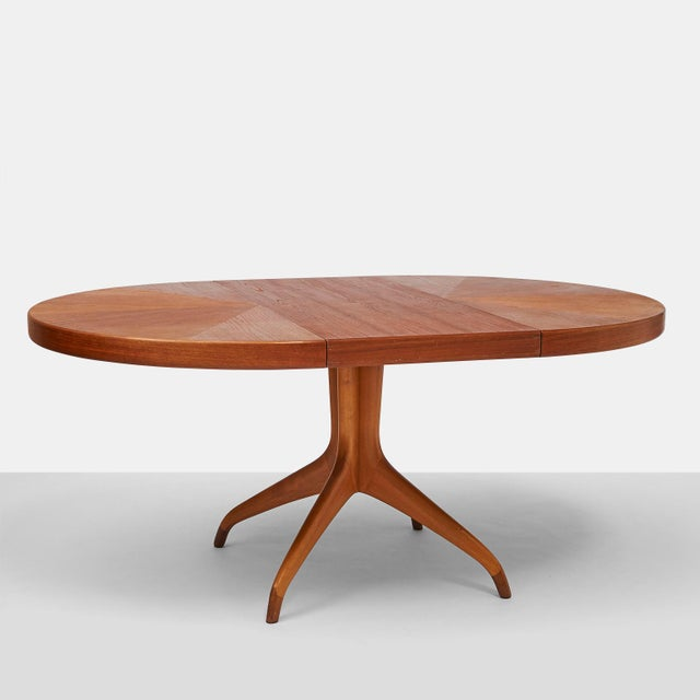 WorldClass Round Teak Dining Table On Clawed Feet By David Rosén - 3 foot round dining table