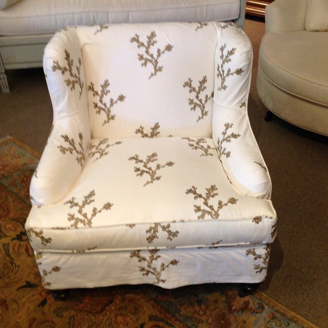 Barclay Butera Taylor Wing Chair - Image 2 of 11