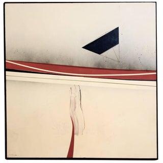 "Bijan Bahar Acrylic on Plywood ""Reach or Flying Primed"" For Sale"