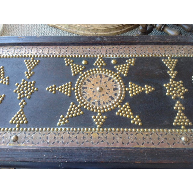 1980s Moroccan Chest / Coffee Table For Sale - Image 9 of 13