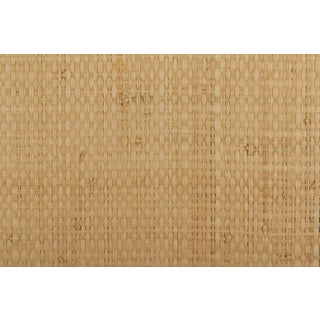 Maya Romanoff Island Weaves: Sunscreen - Woven Jute & Paper Wallcovering, 16 yds (14.6 m) For Sale