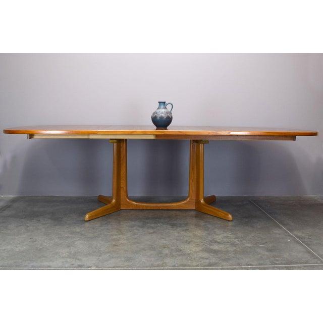N.O. Moller / Gudme Danish Teak Dining Table For Sale - Image 9 of 11