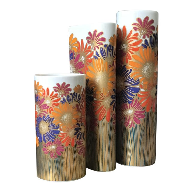 Rosemund Nairac for Rosenthal Studio Line Vases - Set of 3 - Image 1 of 5