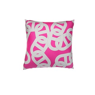 """Circuit 24 Faubourg"" Hermès Silk Scarf Pillow For Sale"