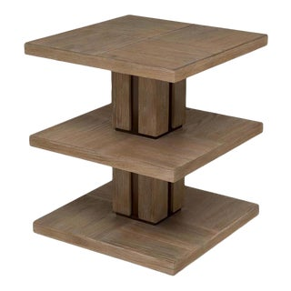 Scarborough House 3tier Occasional Table Brown For Sale